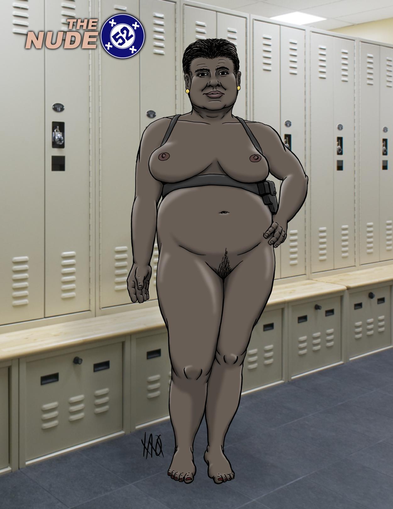 Nude 52 Amanda Waller