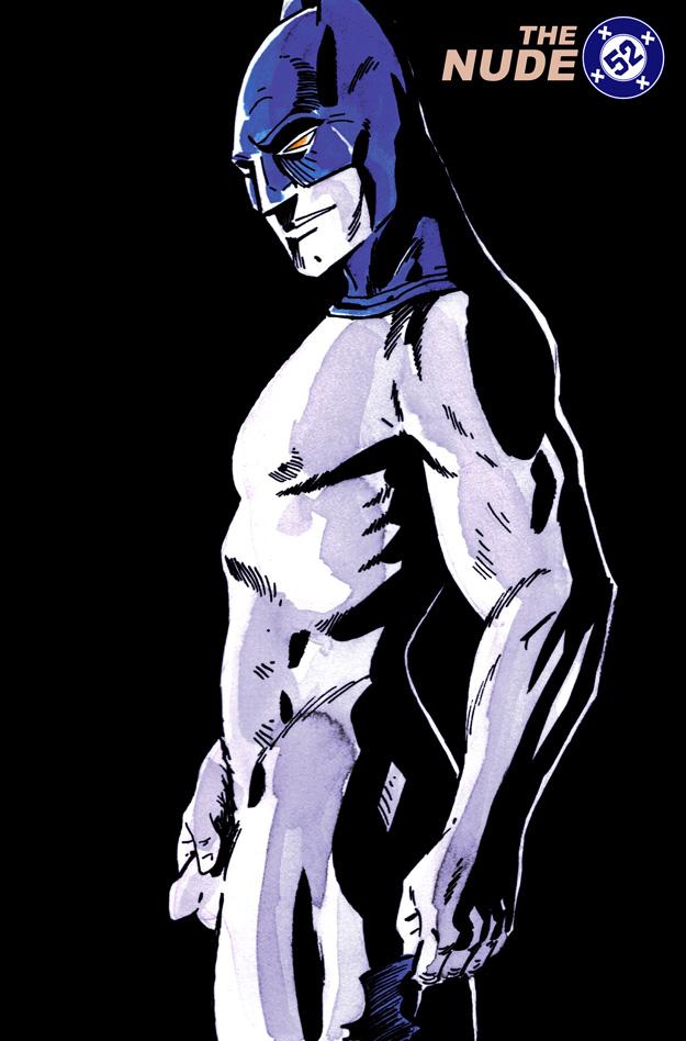 nude Batman