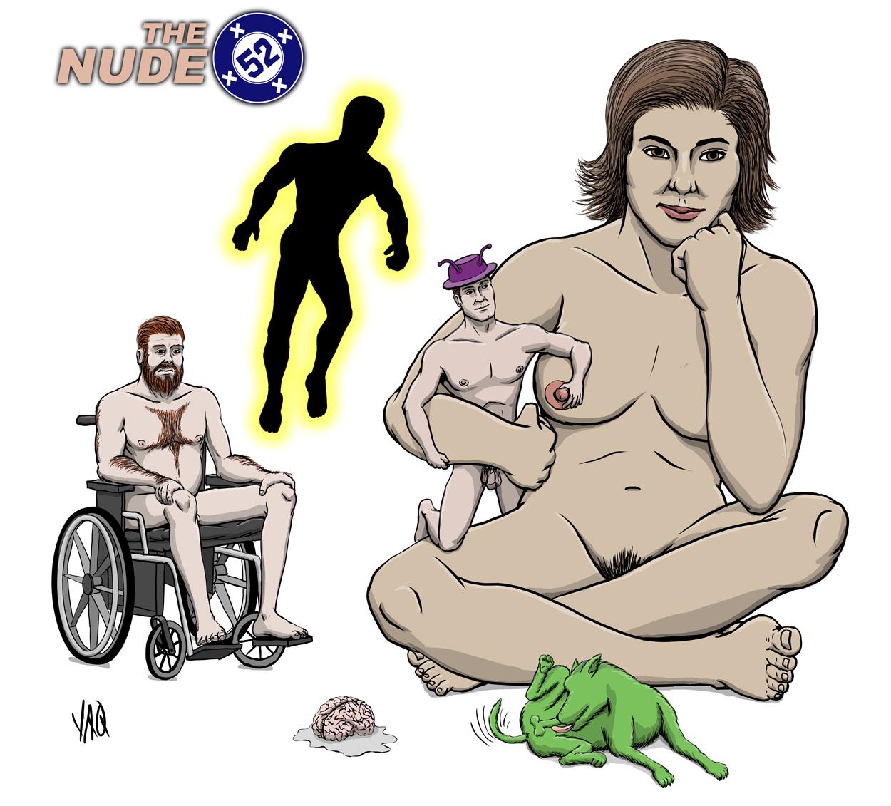 Nude 52 Doom Patrol