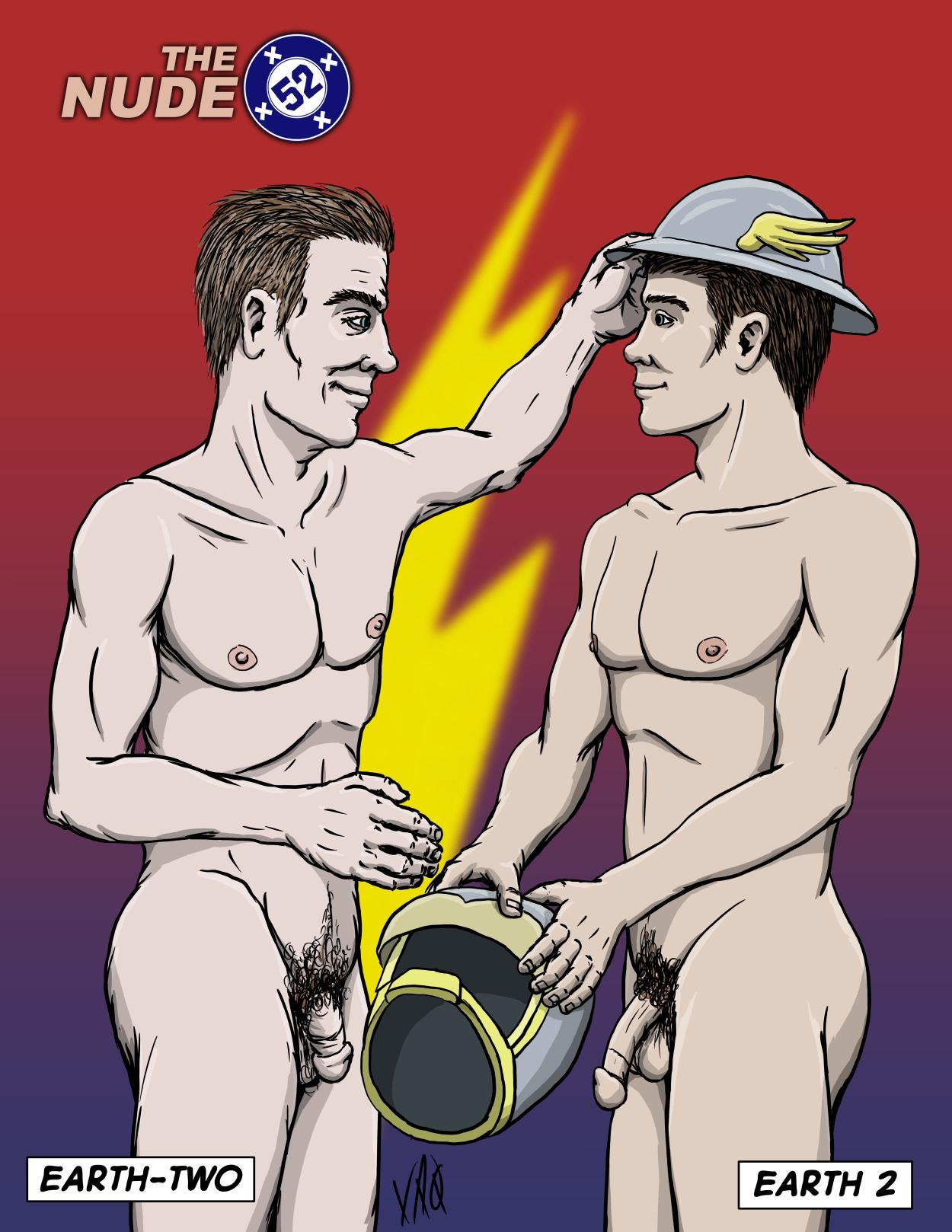 Nude 52 Flash Jay Garrick