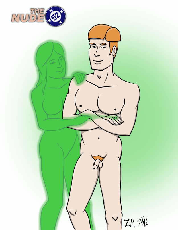 Nude 52 Green Lantern Guy Gardner