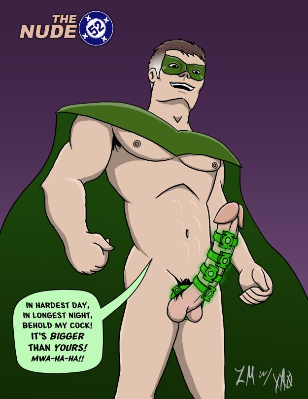 Nude 52 Green Lantern Hal Jordan