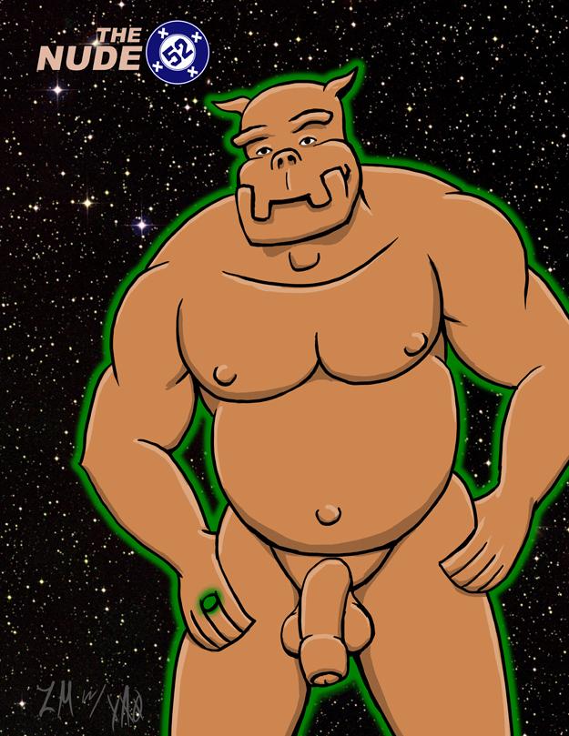 Nude 52 Green Lantern Kilowog