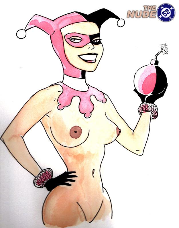 nude Harley Quinn