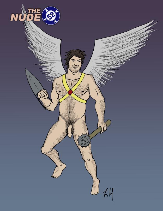 Nude Hawkman
