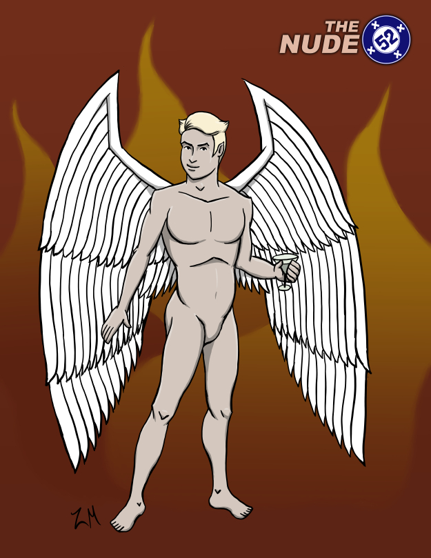 Nude Lucifer Morningstar