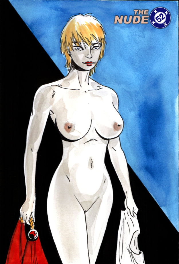 nude Power Girl
