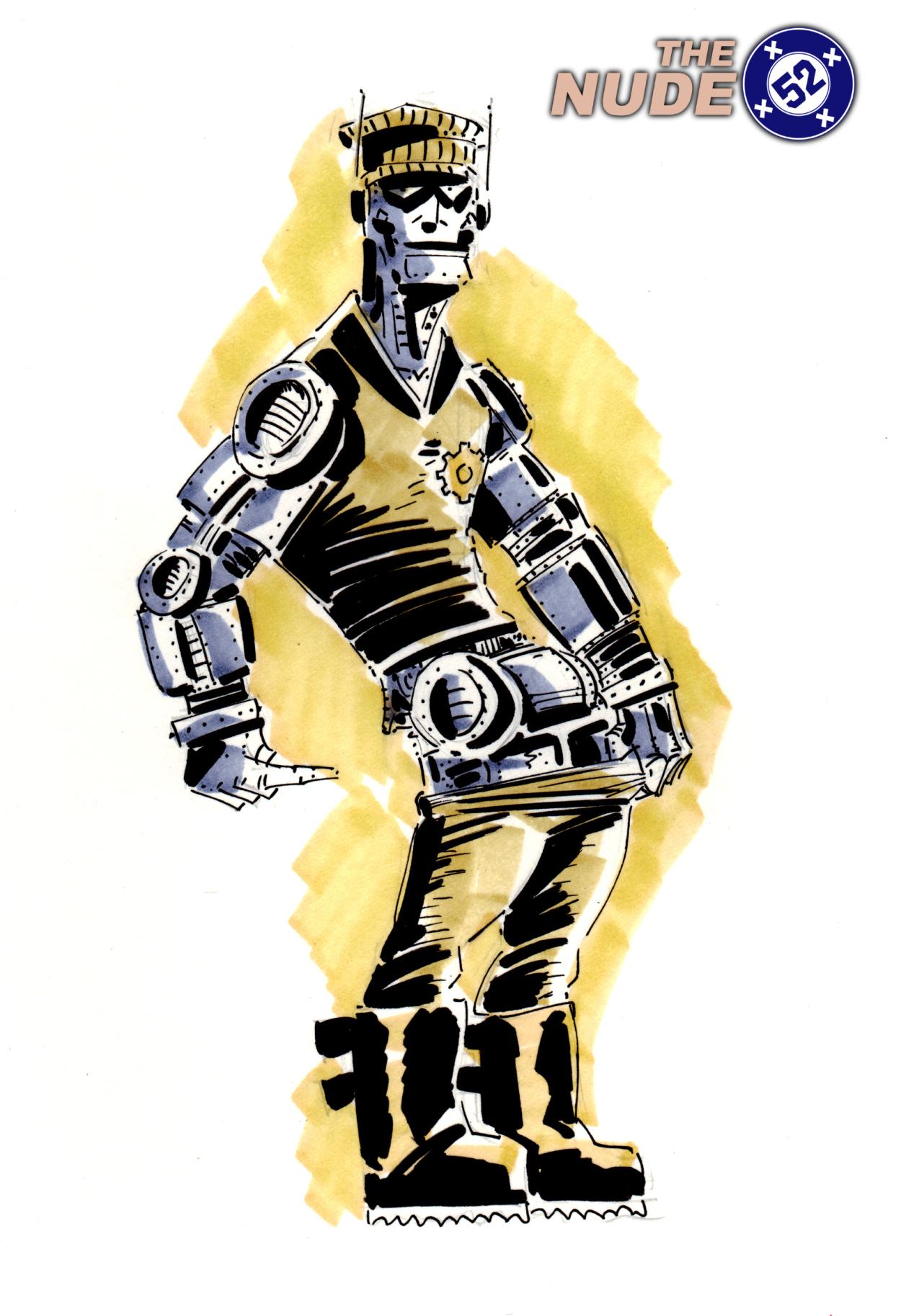 Nude 52 Robotman