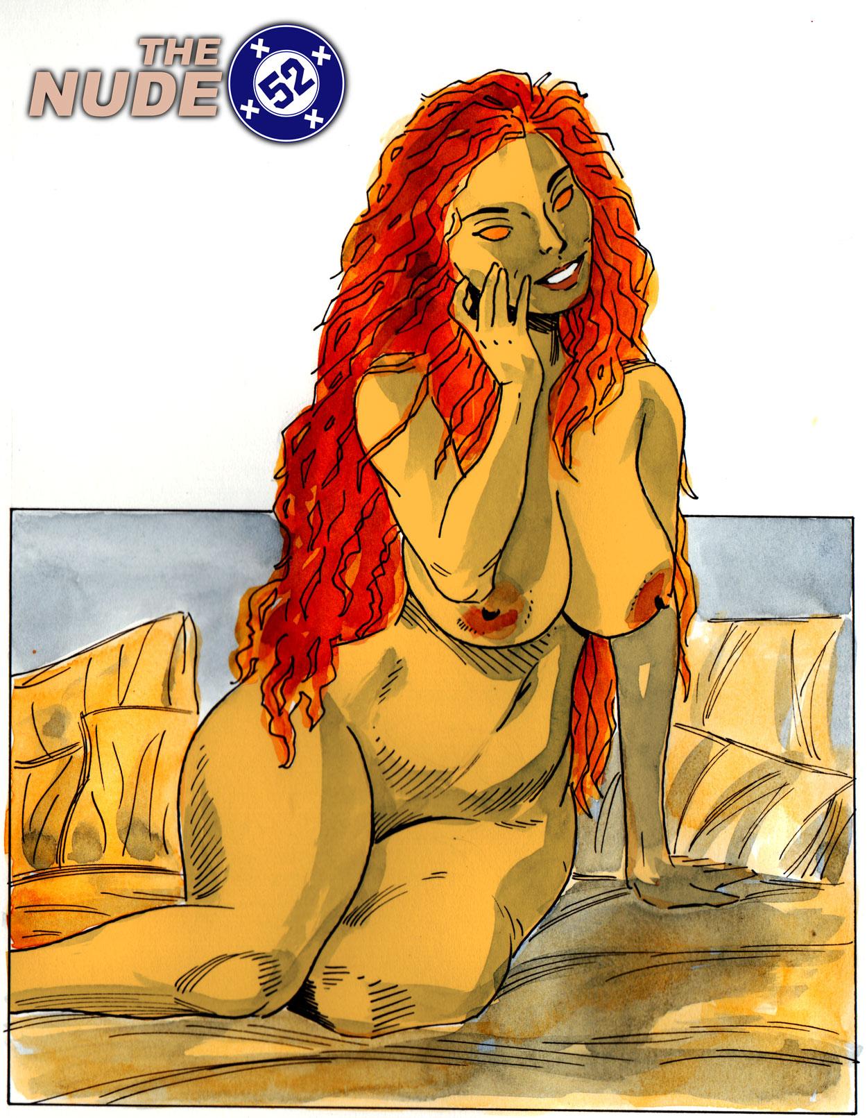 nude Starfire