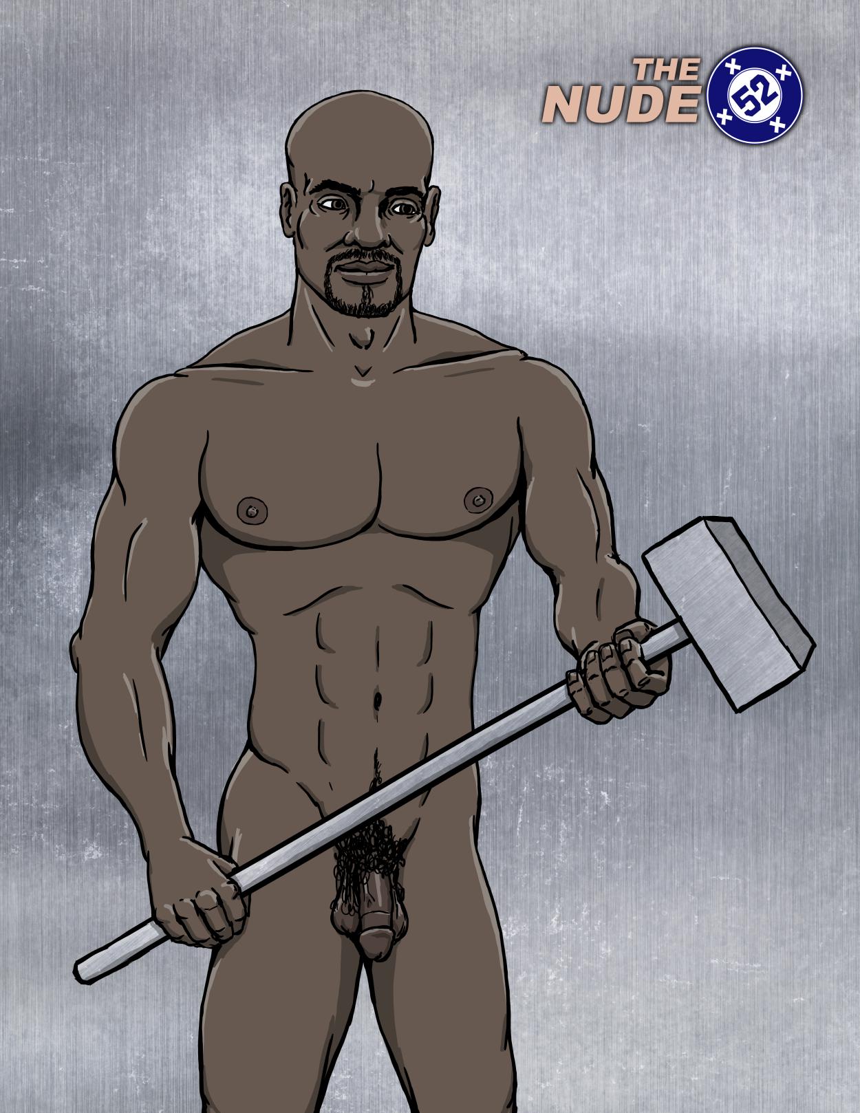 Nude DC comics Steel