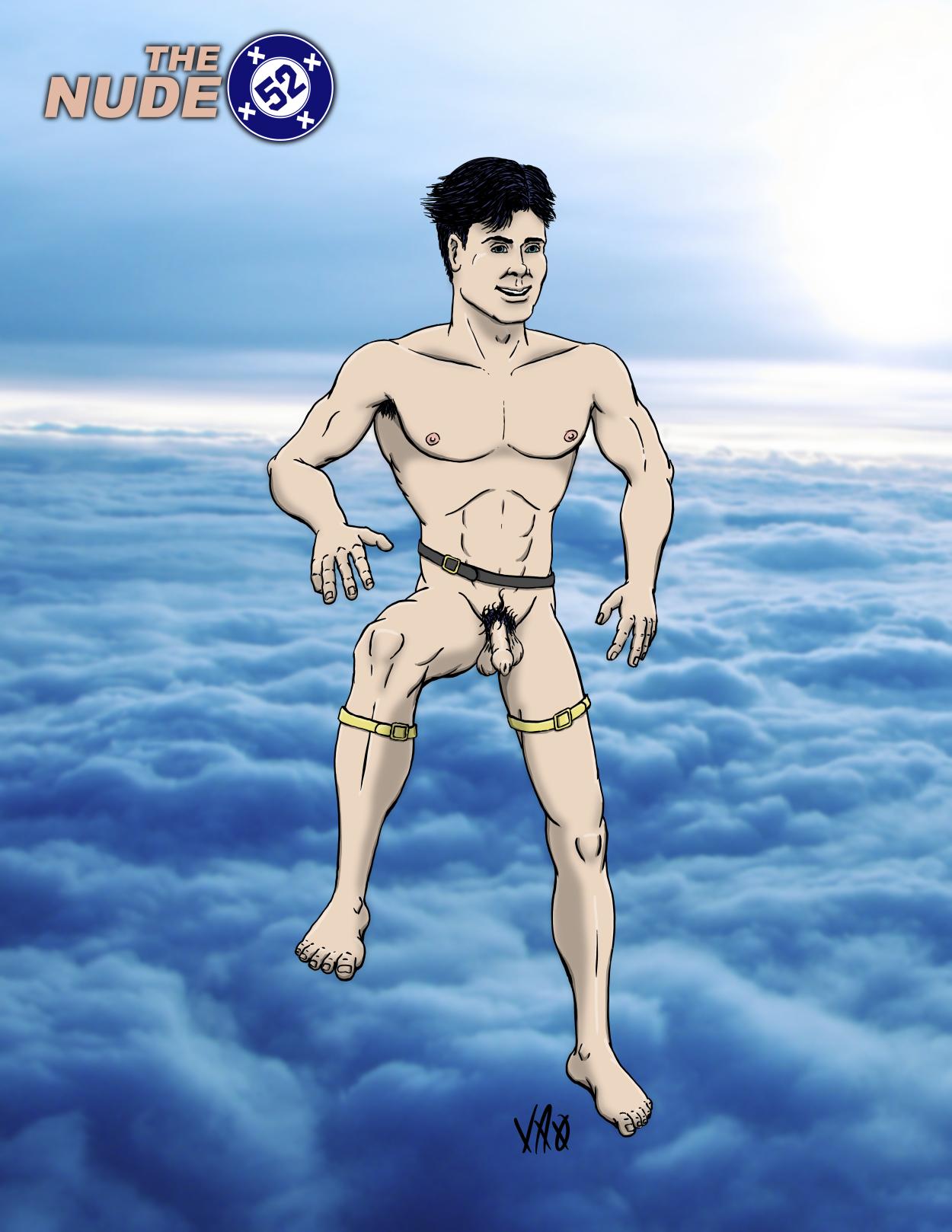 Nude 52 Superboy