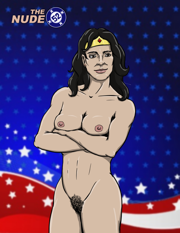 Nude DC comics Wonder Woman